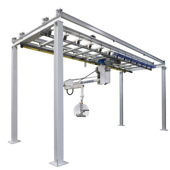 Hanging ARMtech on rail system